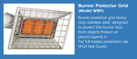 Aira Burner Protector Sheild