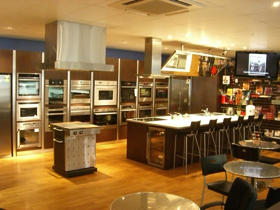 Camberwell Electrics Cooking Demonstration Area