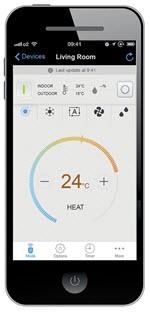 Daikin Ururu Sarara 7 Smart Phone App