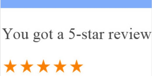 Customer Review 5 Star By A.S