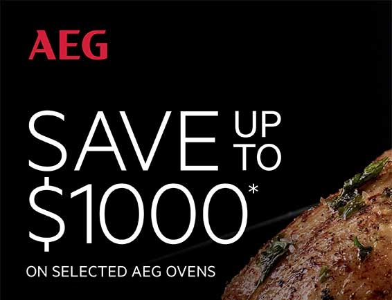 AEG oven $100 Promotion August 2017