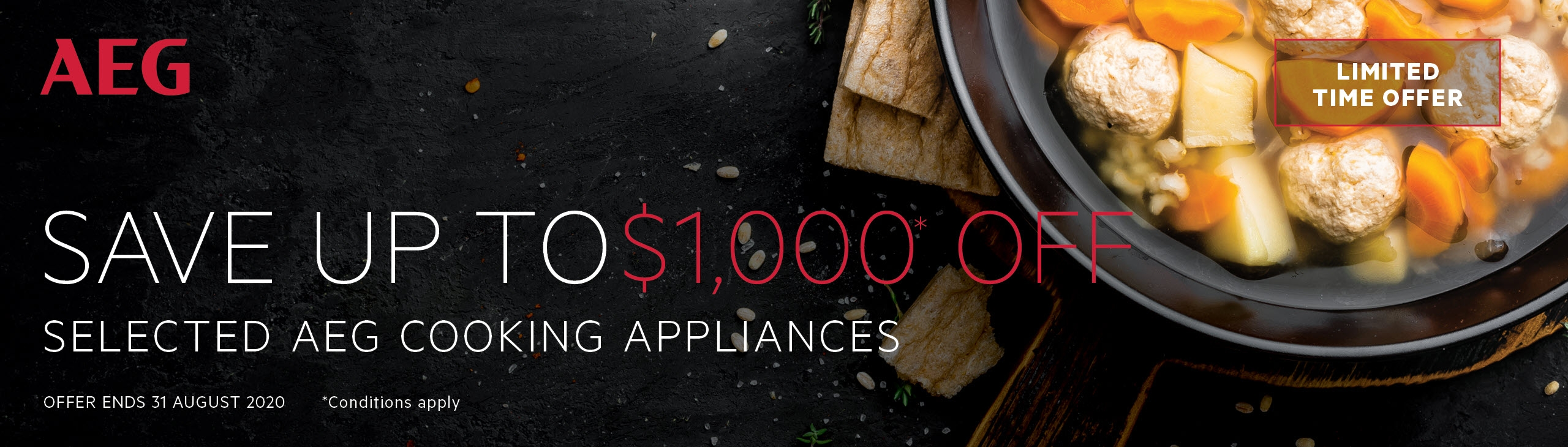 AEG Save up to $1000 On Selected AEG Kitchen Appliances July Aug 2020
