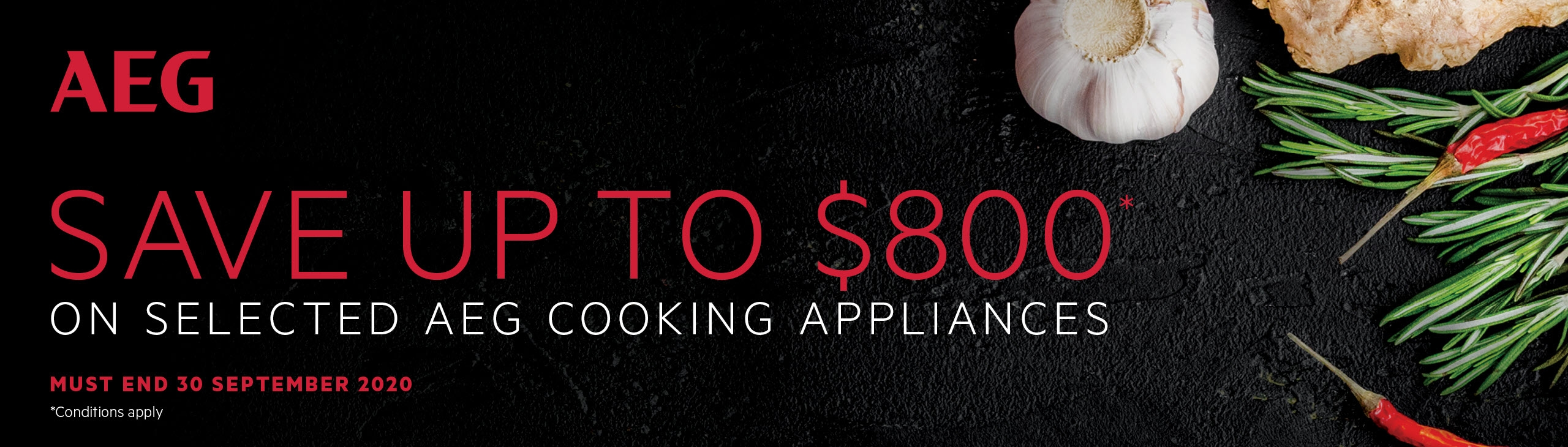 AEG Save Up To $800 on Selected AEG Kitchen Appliances Sept 2020