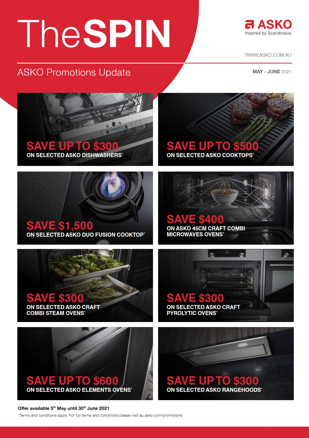 ASKO Promotions Overview May June 2021