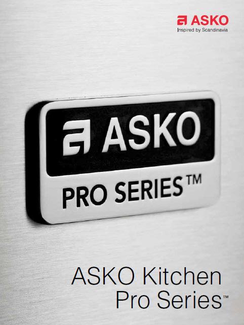 ASKO Pro Series Brochure