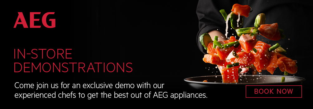 AEG Cooking Demonstrations - Camberwell Electrics
