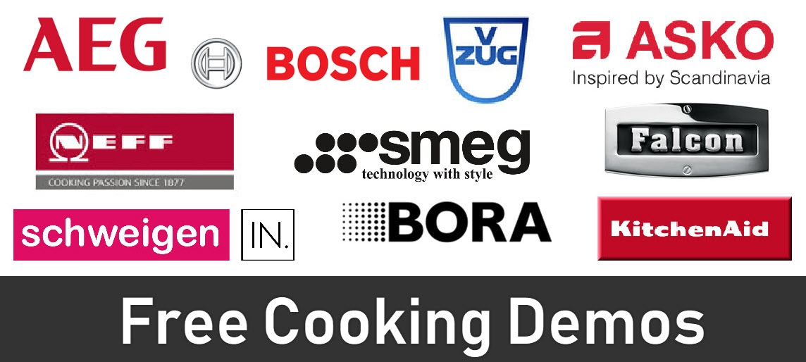 Camberwell Electrics Cooking Demonstration Brands