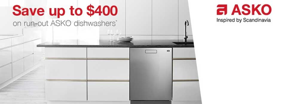 Camberwell Electrics ASKO FebMarch Dishwasher Promotion 2018