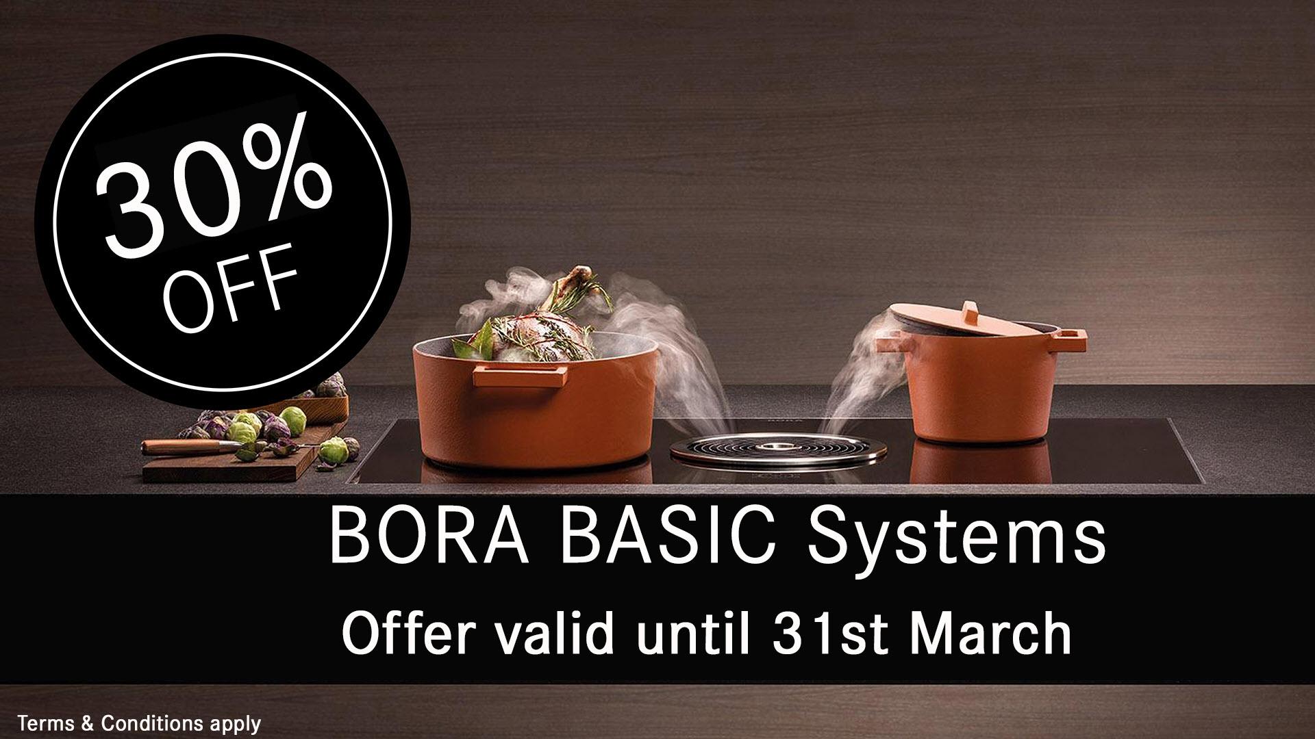 BORA 30% Off BASIC March 2020 Promotion