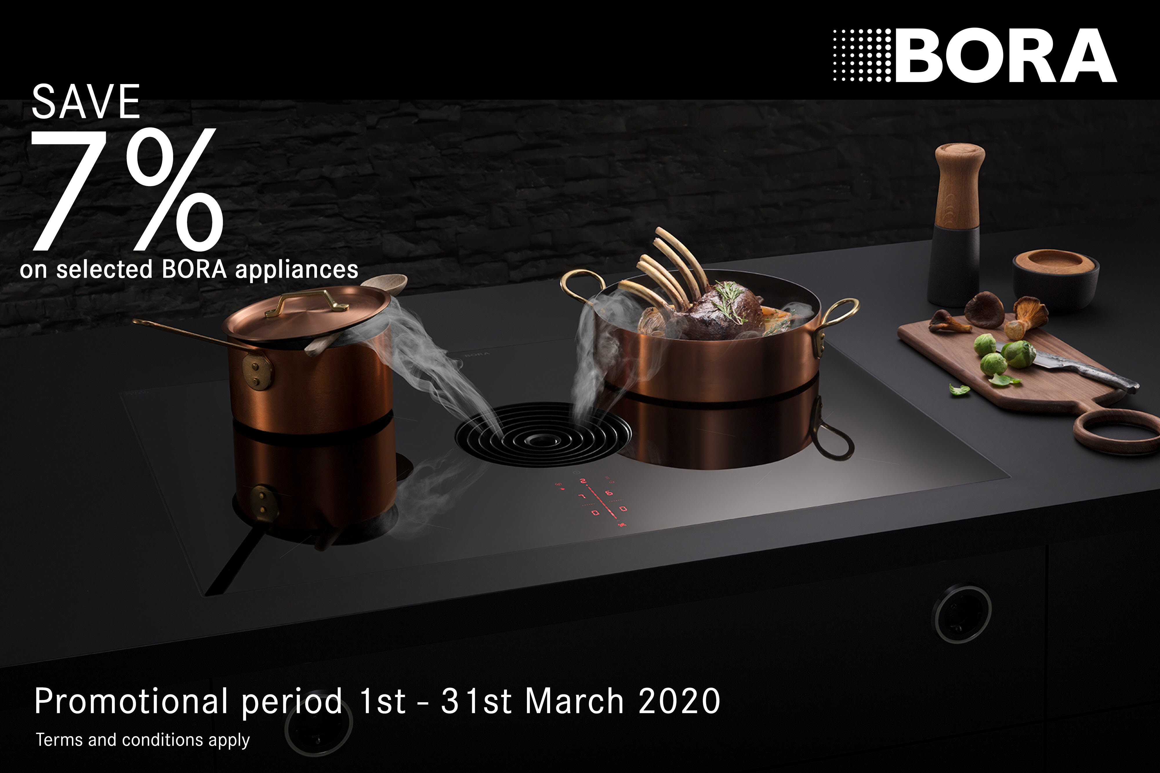 BORA 7% Classic March 2020 Promotion