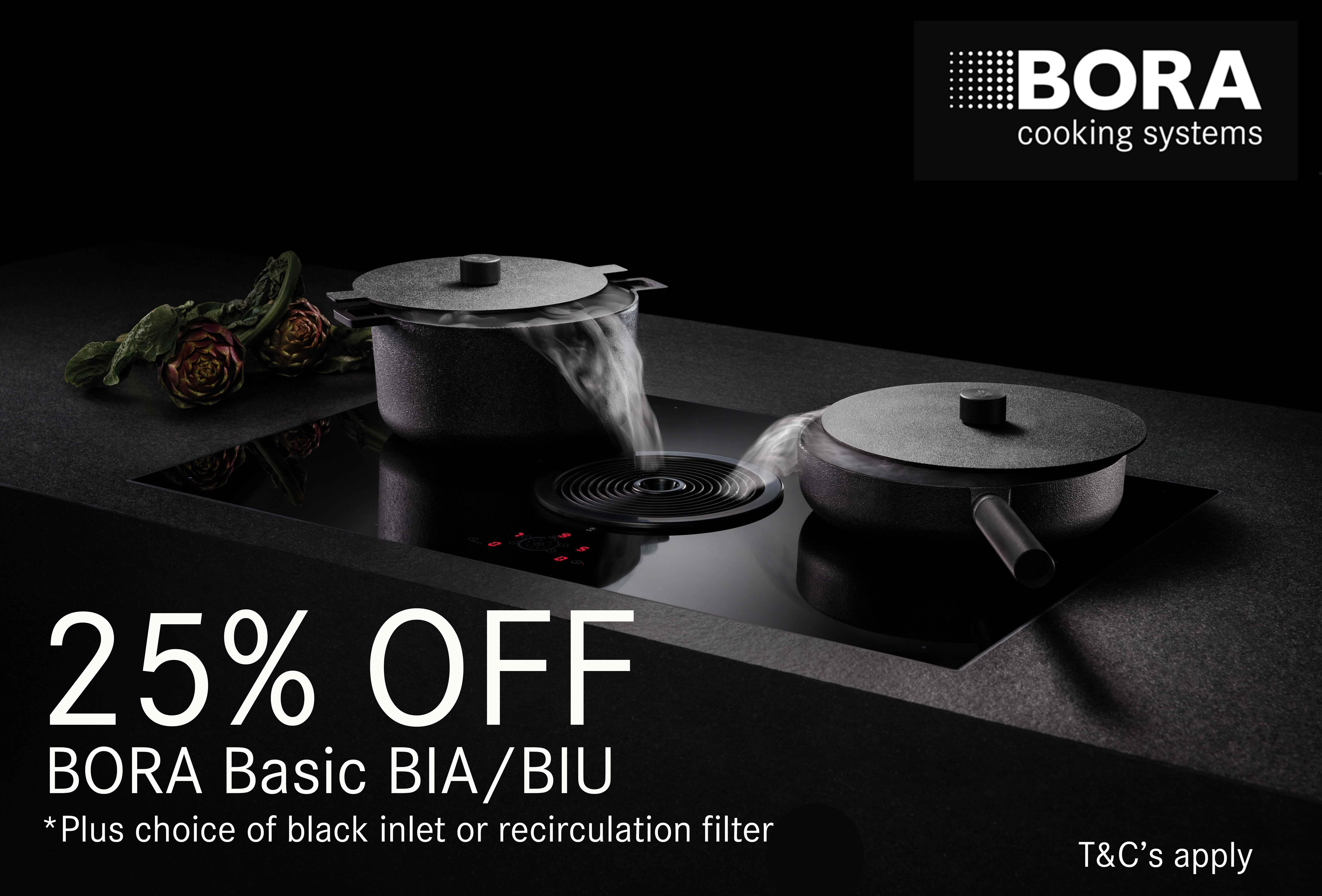 BORA Basic All Black September 2020 25% OFF