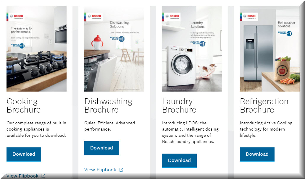 BOSCH Buyers Guides