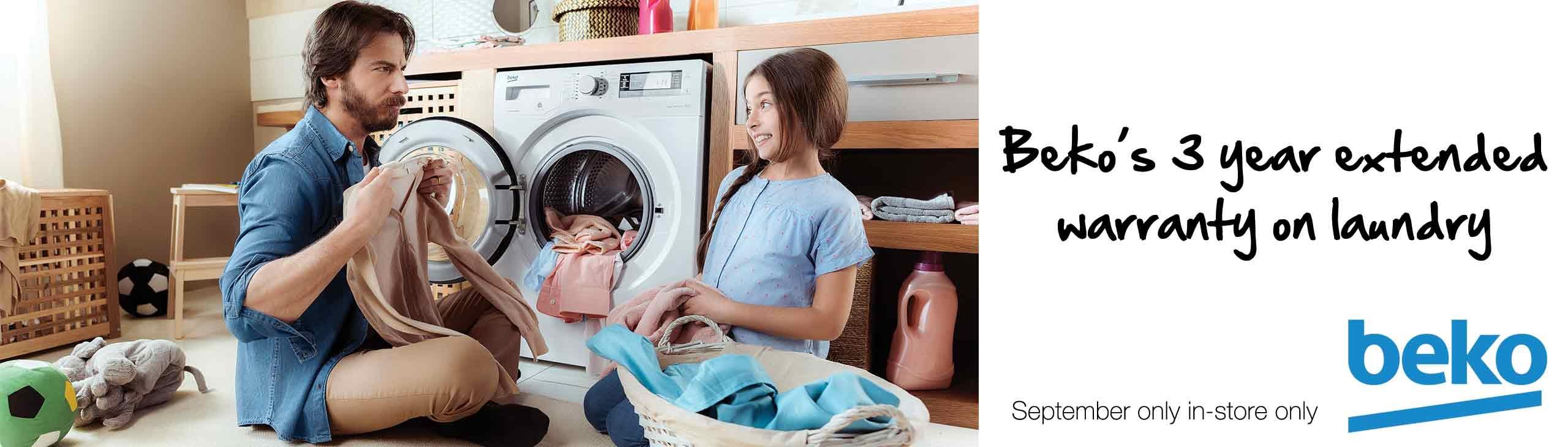 BEKO Laundry 3 Year Extended Warranty