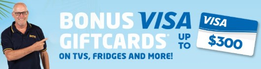 October Bonus Visa Giftcards