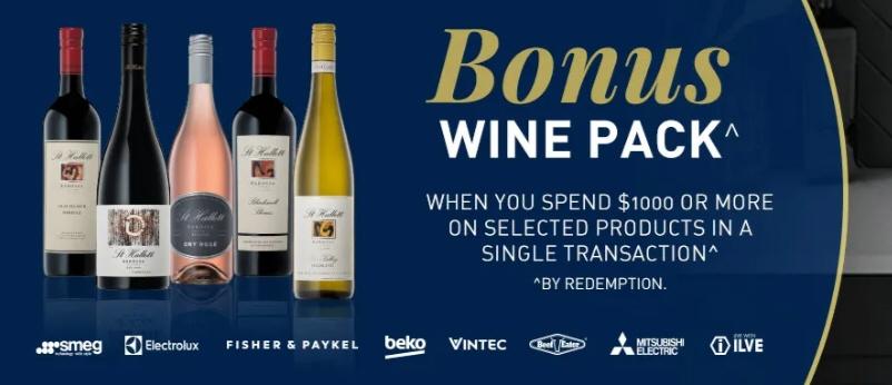 Bonus Premium Barossa Valley Wine Pack