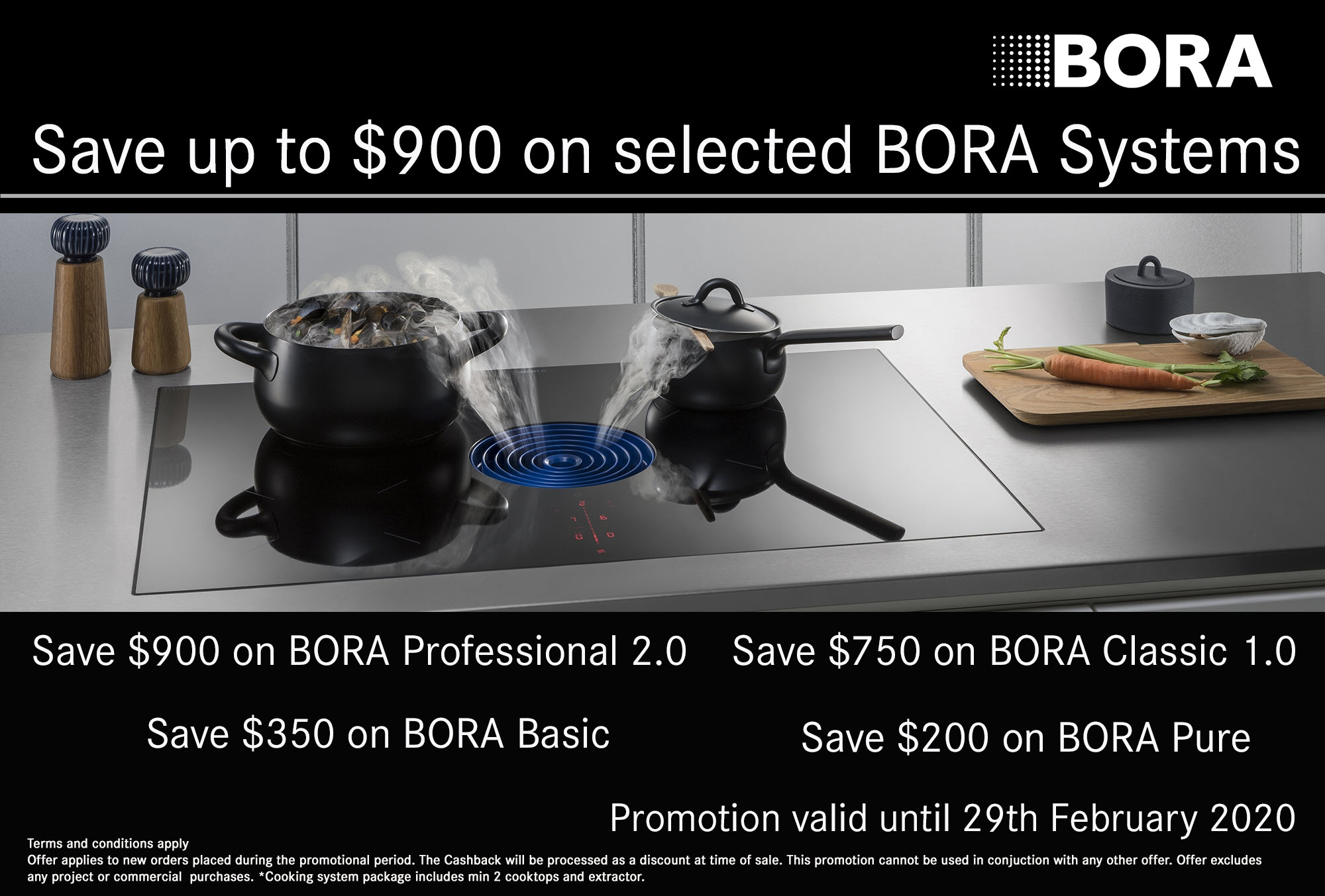 Bora Promotion Jan 2020 Feb 2020