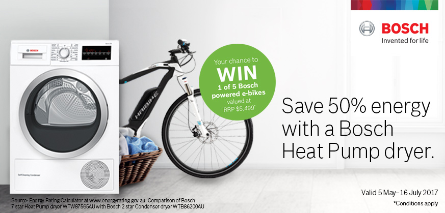 Camberwell Electrics BOSCH Heat Pump e-bike May Promotion 2017
