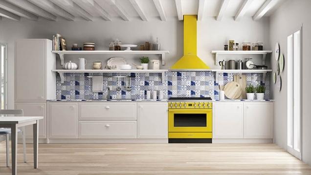 SMEG Portofino Oven in Kitchen