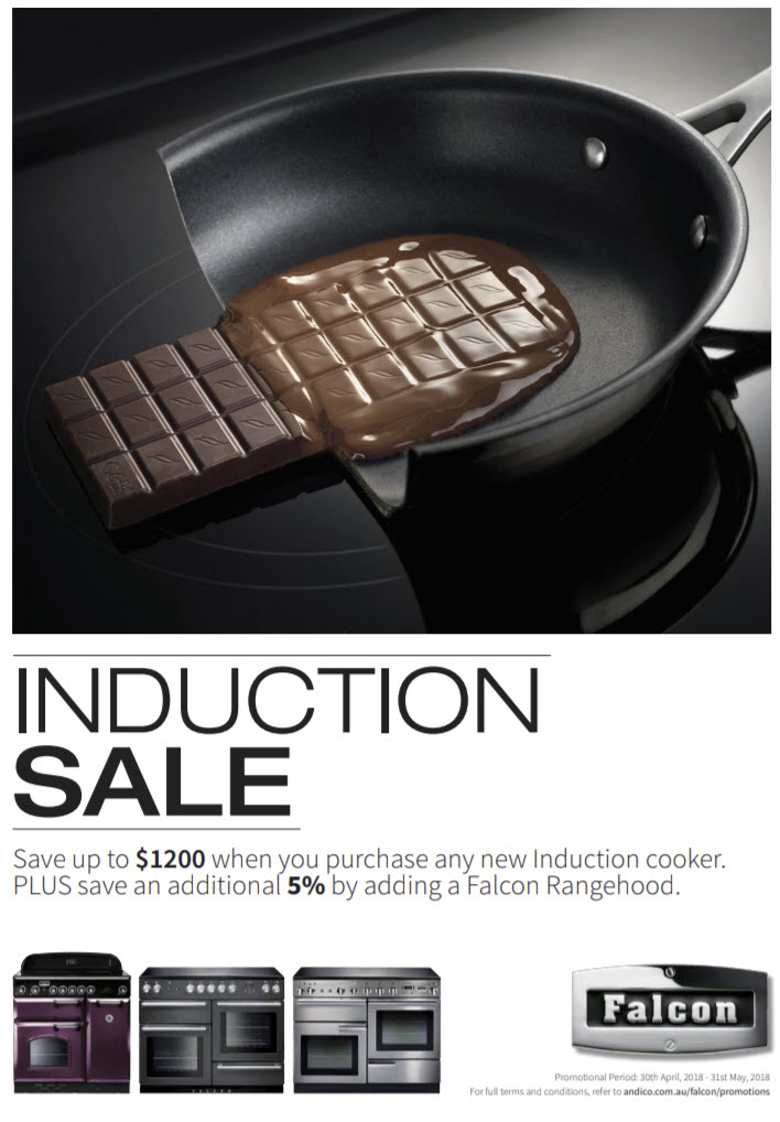 Falcon Induction Sale May 2018
