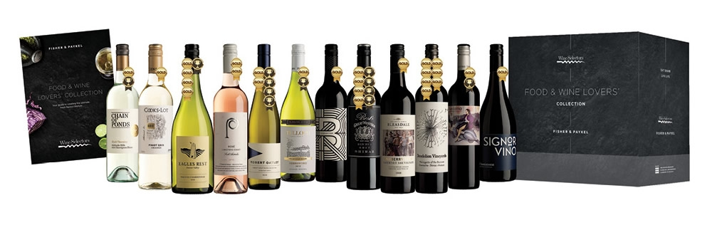 Fisher & Paykel $300 March April 2020 Wine Pack
