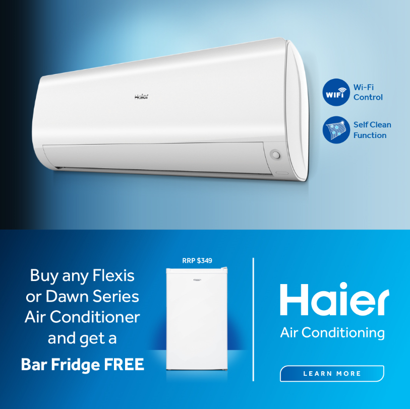 Haier Air Conditioners Bonus Bar Fridge Oct Dec 2020