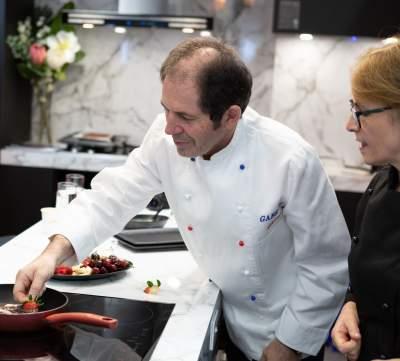 Gabriel Gaté & Anna Goodings Cooking Demonstration 1