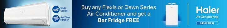 Haier Air Conditioners Bonus Bar Fridge Oct Dec 2020