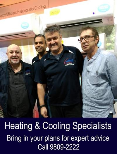 Camberwell Electrics Heating & Cooling Product Specialist Team