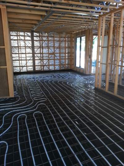 Hydronic Heating Under Floor Examples 2