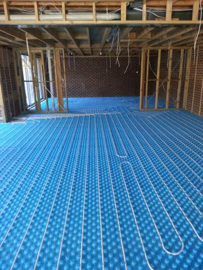 Hydronic Heating Under Floor Examples 3