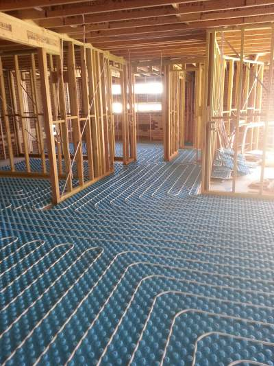 Hydronic Heating Under Floor Examples 1