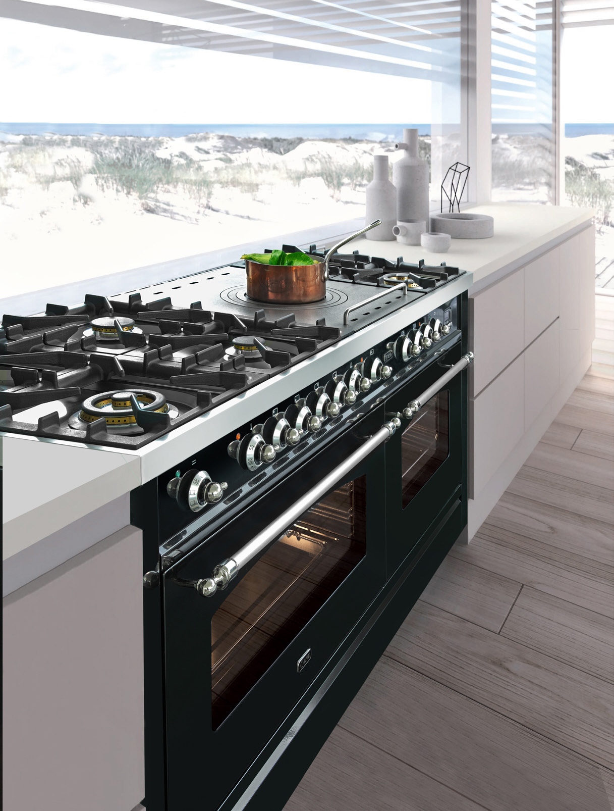 renaissance with gas cleaning ng index countertop range self food dacor