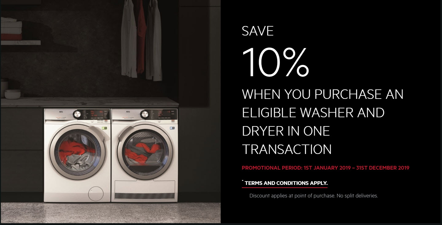 SAVE 10% ON LAUNDRY PACKAGE