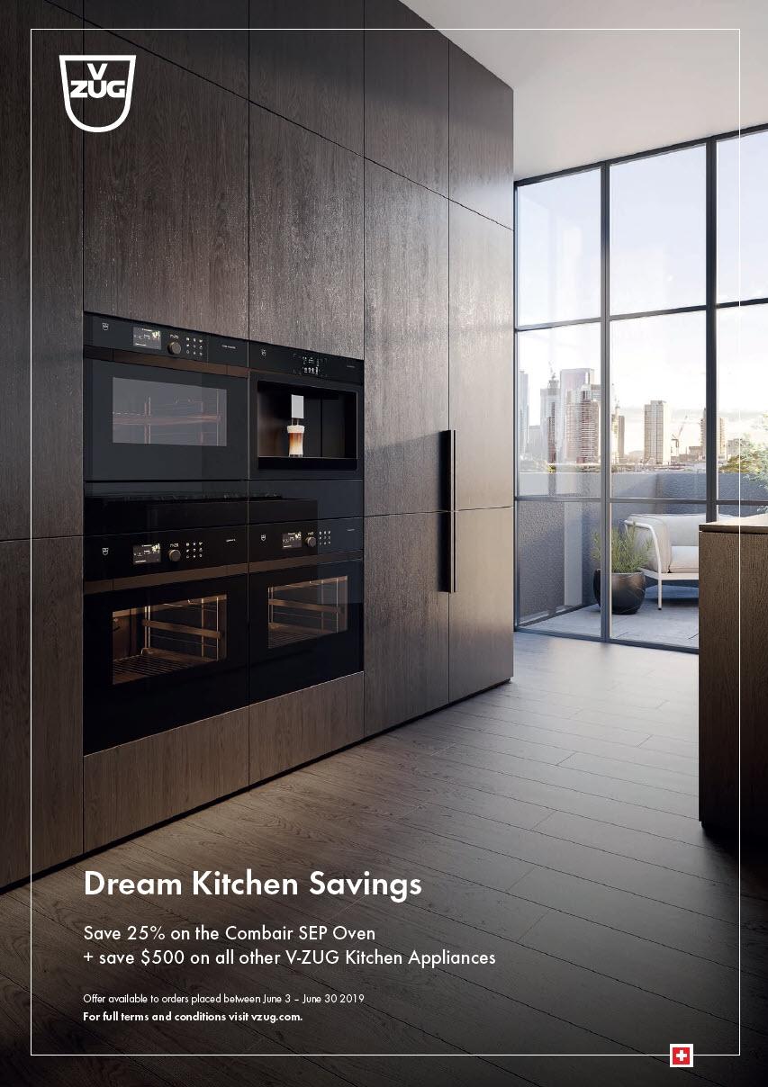 June 2019 VZUG Dream Kitchen Saving Promotion