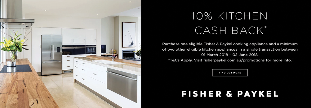 Camberwell Electrics Fisher & Paykel Promotion March 2018