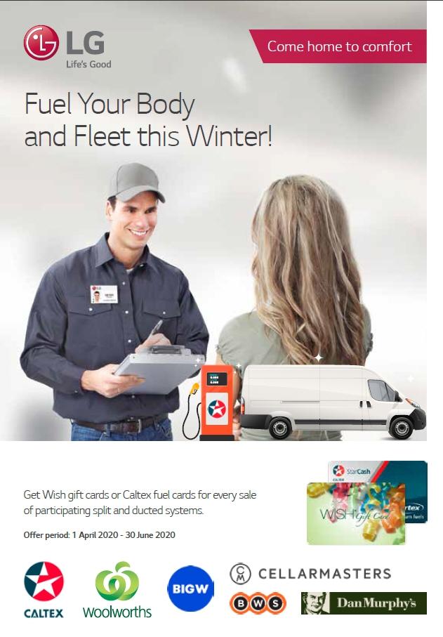 LG Aircon Dealer Winter Incentive 2020