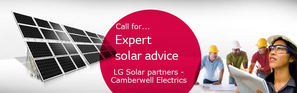 LG Solar & Camberwell Electrics Specialist Solar Advice