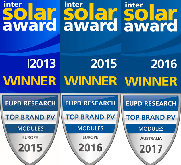 LG Solar Panel 6 Awards