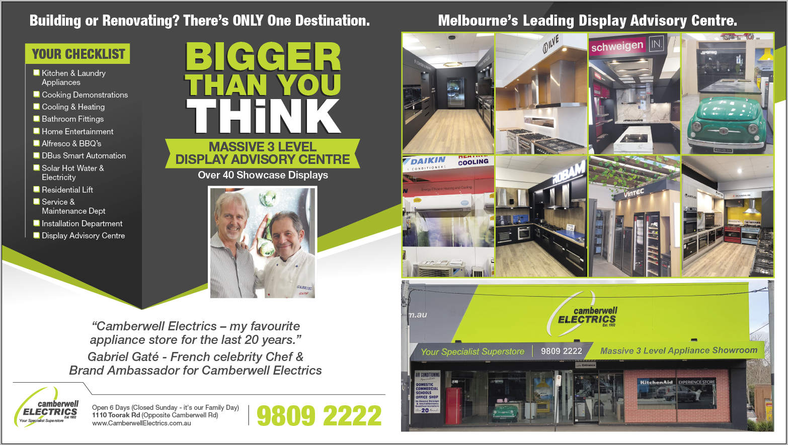 Camberwell Electrics Store - Bigger than you think June 2018