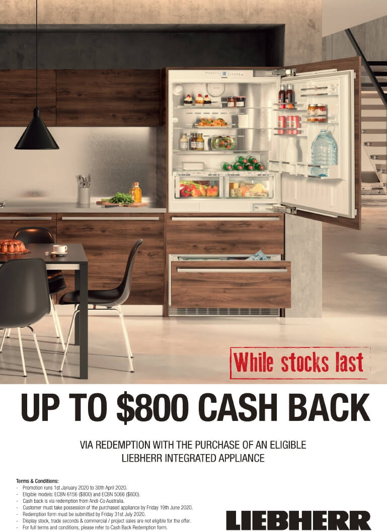 Liebherr Up To $800 Cash Back Selected Appliances