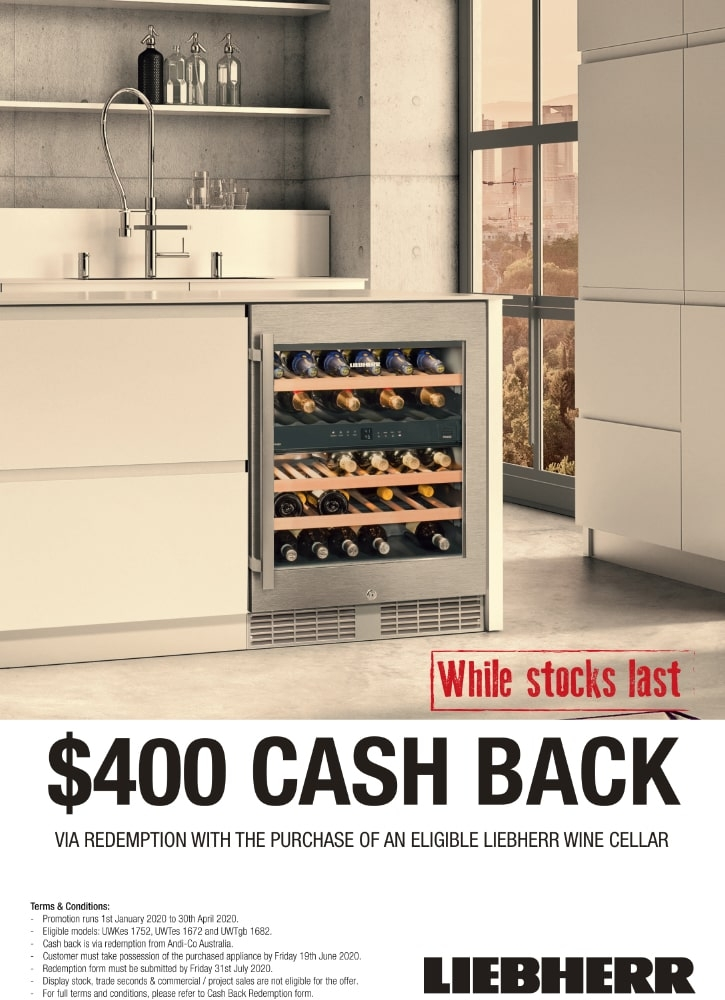 Liebherr Up To $400 Cash Back Selected Wine Celler