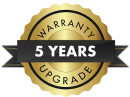 Liebherr 5 Year Warranty Upgrade Nov 2019 Badge