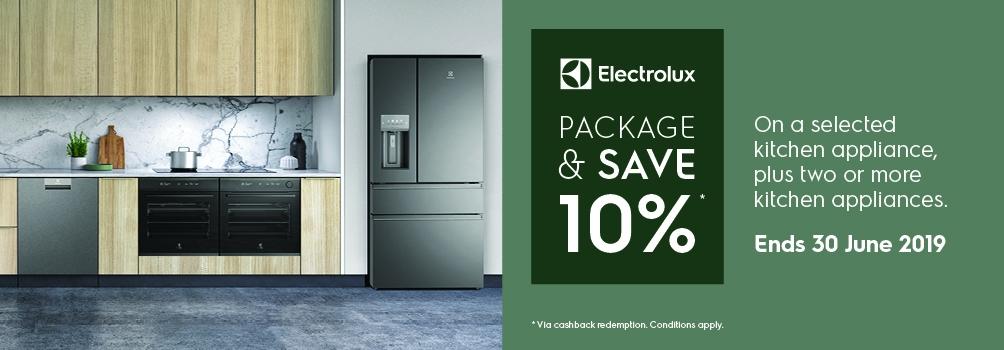 Electrolux 10% Cashback Offer