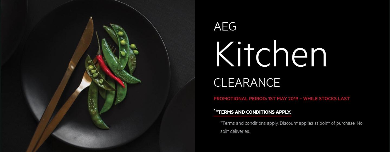 AEG Kitchen CLEARANCE