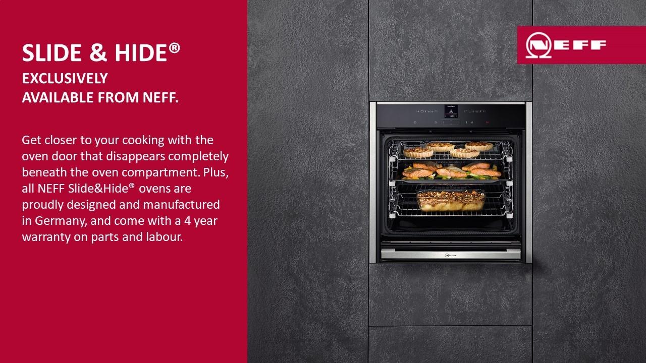 NEFF Slide & Hide Ovens