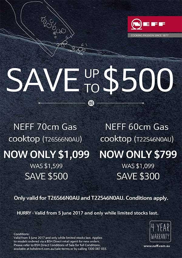 Camberwell Electrics NEFF Gas Promotion 2017