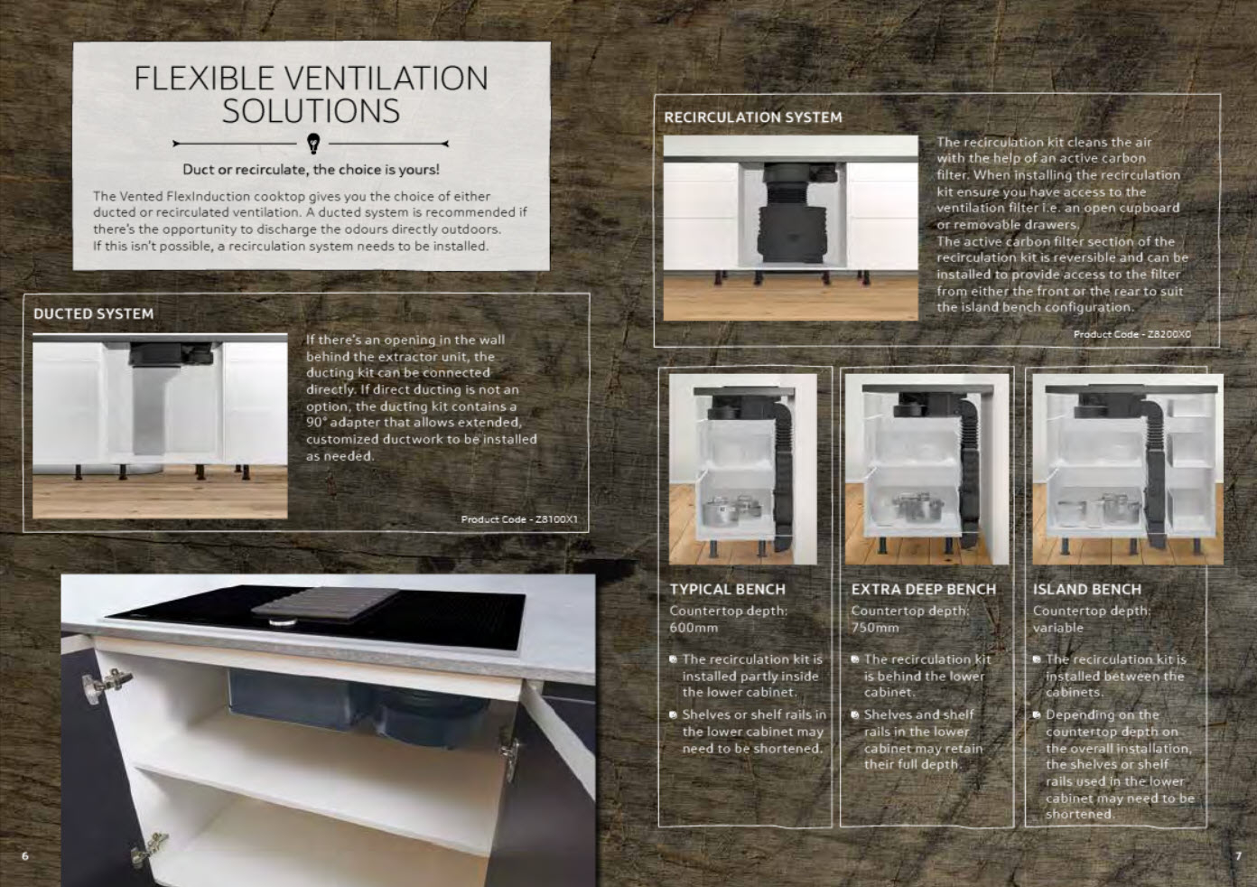 NEFF T58TS6BN0 80cm Vented FlexInduction Cooktop Overview Brochure 5