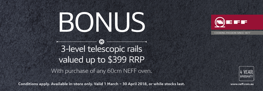 Camberwell Electrics Neff Promotion March 2018
