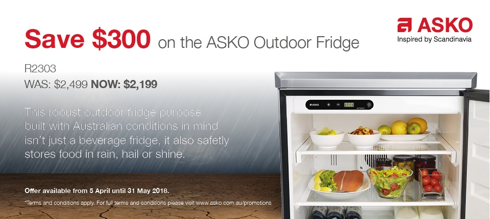 Camberwell Electrics Asko April to May 2018 Promotion