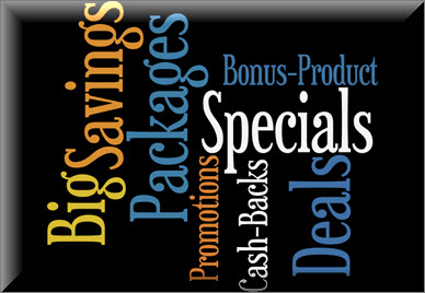 Promotions & Specials